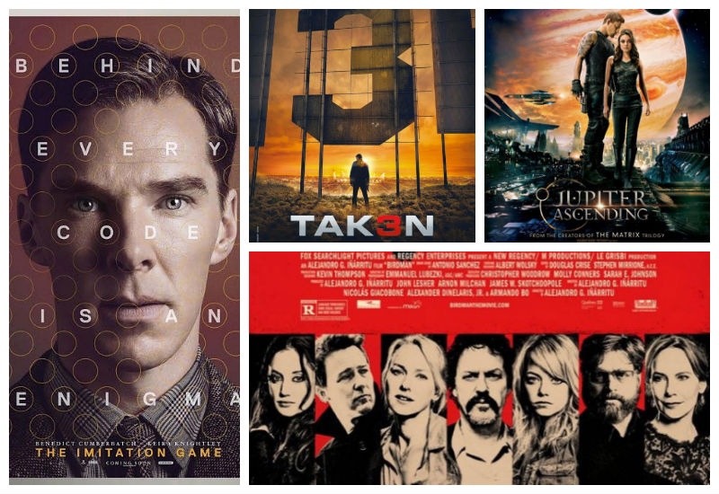 Poster Mania: Tak3n, Jupiter Ascending, The Imitation Game ...